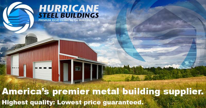 Metal Garage Kits | Metal building kits | Hurricane Steel