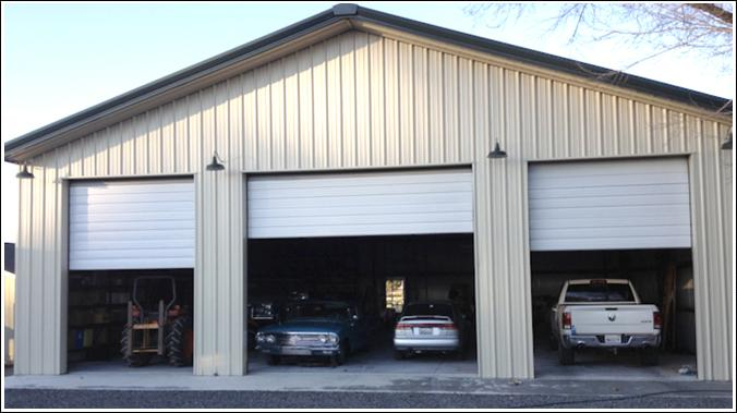 Metal garage kits metal building kits hurricane steel for Garage building kits canada