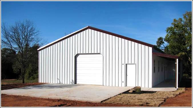 workshop metal buildings